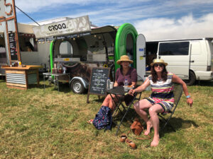 Croqq Vege Diners at Newt Beer Festival
