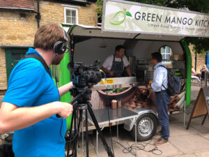 Green Mango Kitchen at Interview at eatCrekerne